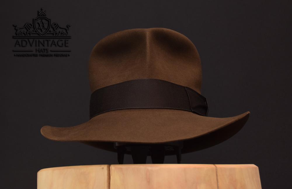 Streets of Cairo Indiana Jones Fedora hat hut sable 56cm