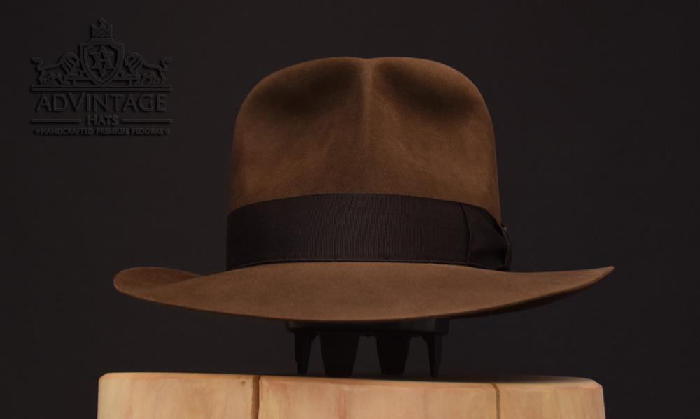 Indiana Jones Fedora hut hat biber beaver sable raiders idol grab turn