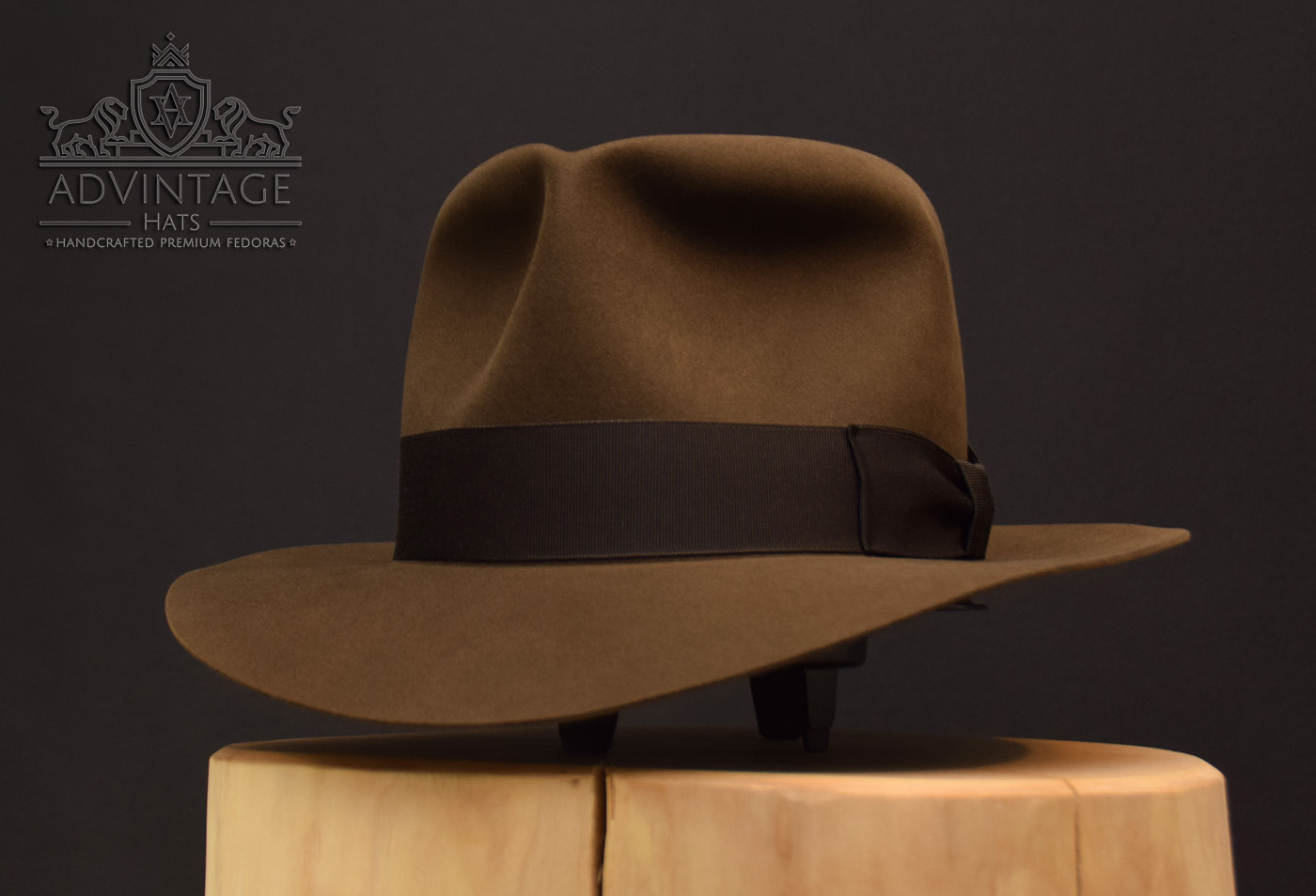 Indy Last Crusade Fedora Hut Hat sable beaver felt indiana jones
