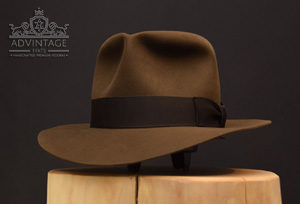 Indy LCora Hut Hat sable beaver felt indiana jones