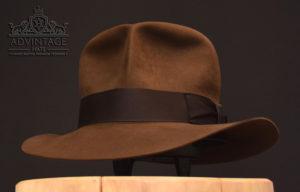 Streets of Cairo Fedora Hut Hat sable Indiana Jones