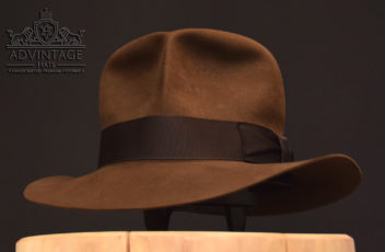 Streets of Cairo Fedora Hut Hat sable Indiana Jones