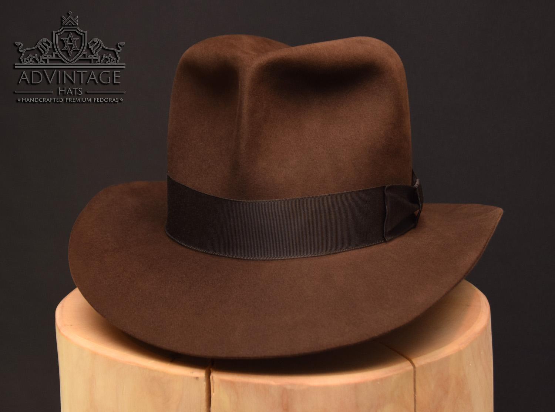 Raiders of the Lost Ark Fedora Hut hat Indiana Jones true-sable ohne Turn