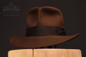 Streets of Cairo Indiana Jones Fedora hut hat true sable one turn