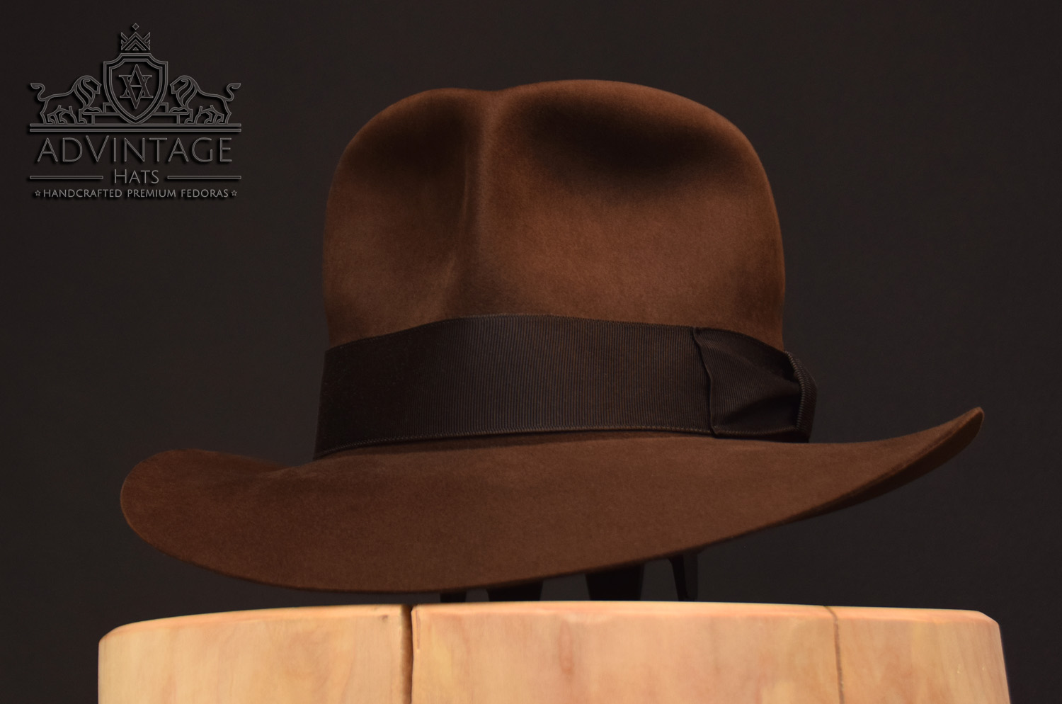 Streets of Cairo Indiana Jones Fedora hut hat true sable one turn