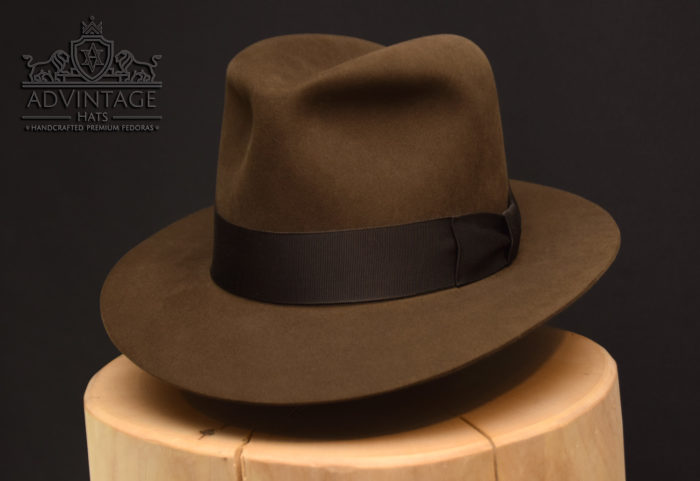 Temple of Doom Fedora hut hat sable indy indiana jones beaver felt filz