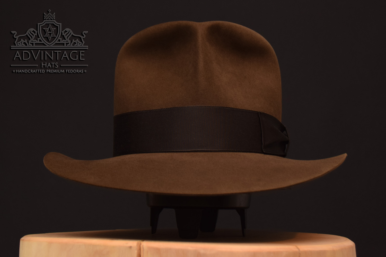 Raiders of the Lost Ark fedora hut hat indiana jones indy sable