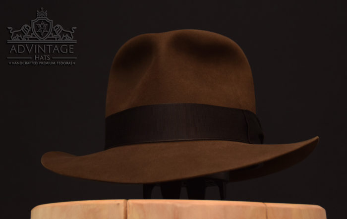 Last Crusace Fedora hut hat indy indiana jones handmade felt sable 2