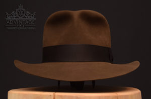 Last Crusace Fedora hut hat indy indiana jones handmade felt sable