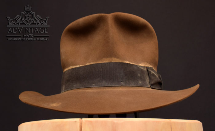 soc streets of cairo distressed indy hat fedora indiana jones hut used weathered 1492
