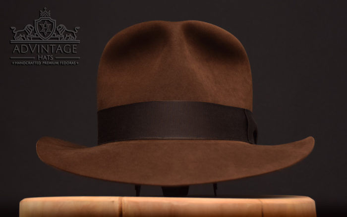 Last Crusade Indy fedora hat hut true sable 1493