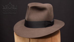 Clipper Fedora Hut hat indy indiana jones