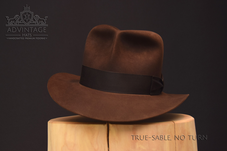 Raiders Fedora Hut hat Indy Indiana Jones Filz felt sable 1