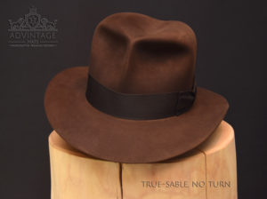 Raiders Fedora Hut hat Indy Indiana Jones Filz felt sable 2