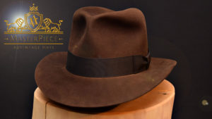 advintage MasterPiece fedora hut hat