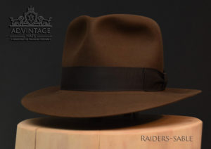 Last Crusade Fedora Hut hat Indy Indiana Jones Filz felt sable 2