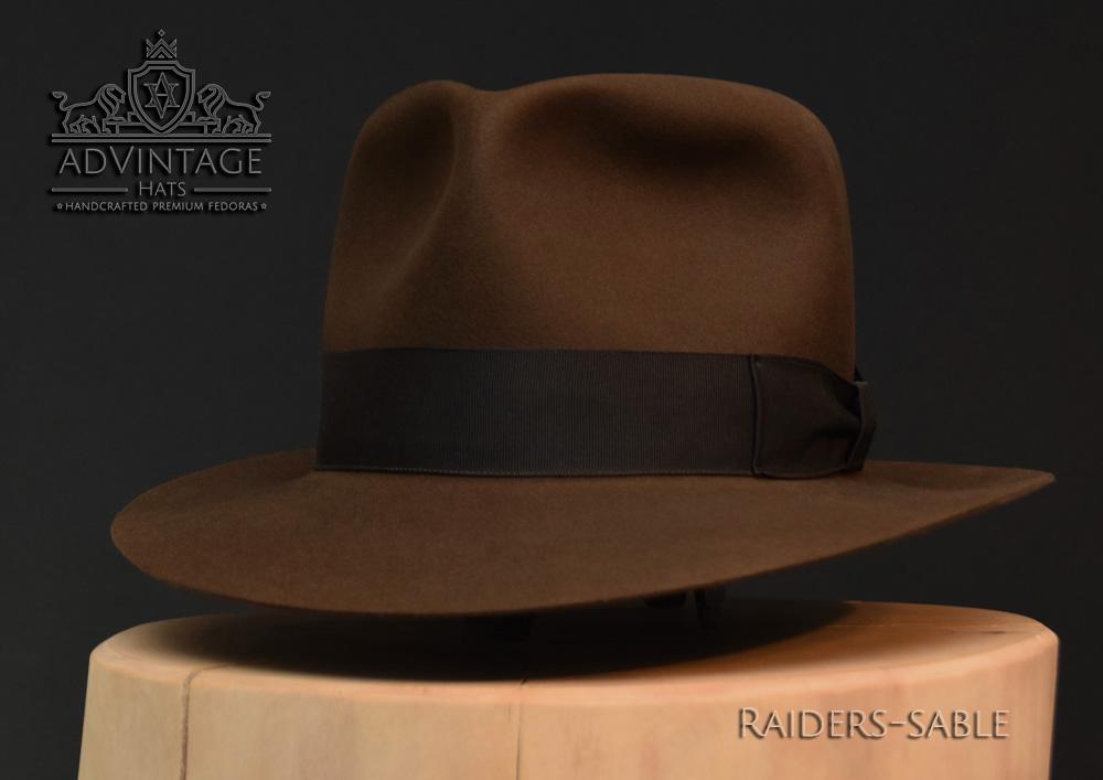 Last Crusade Fedora Hut hat Indy Indiana Jones Filz felt sable 2