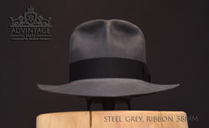 Clipper Travel Fedora Hut hat Indy Indiana Jones Filz felt 3