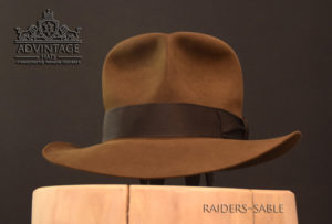 soc streets of cairo raiders skull Fedora Hut hat Indy Indiana Jones Filz felt sable 4