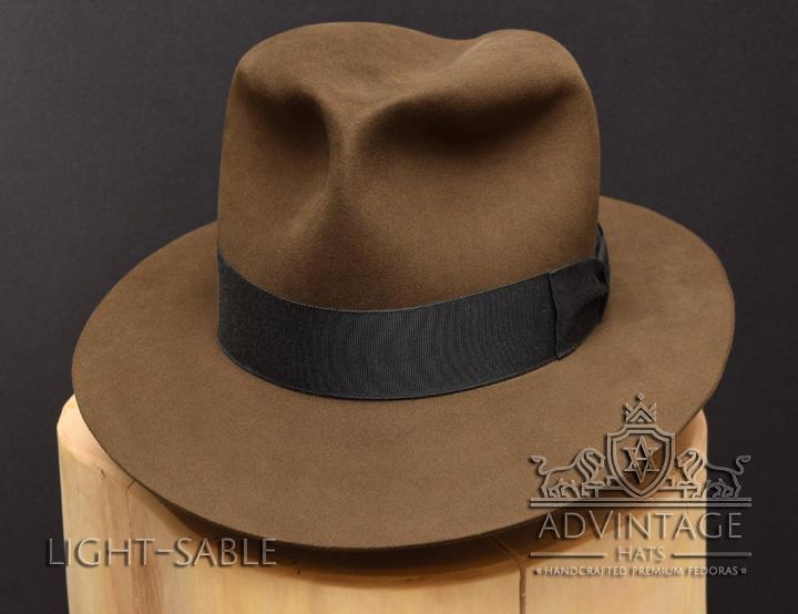Kingdom Crsytal skull Fedora Hut hat Indy Indiana Jones Filz felt sable 3