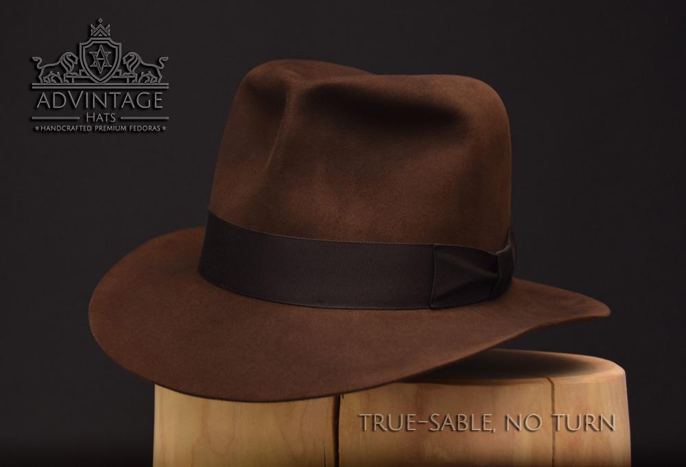 Raiders Fedora Hut hat Indy Indiana Jones Filz felt sable 6