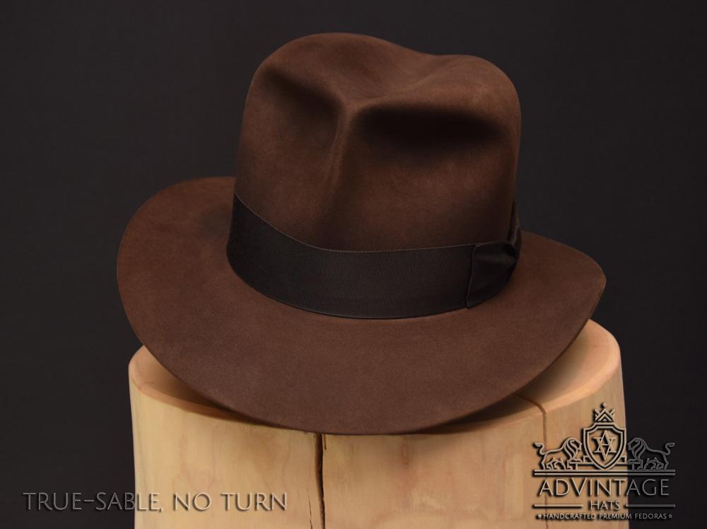 Raiders Fedora Hut hat Indy Indiana Jones Filz felt sable 7