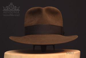 Last Crusade Fedora Hut hat Indy Indiana Jones Filz felt sable 3