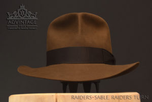 Raiders Fedora Hut hat Indy Indiana Jones Filz felt sable 8