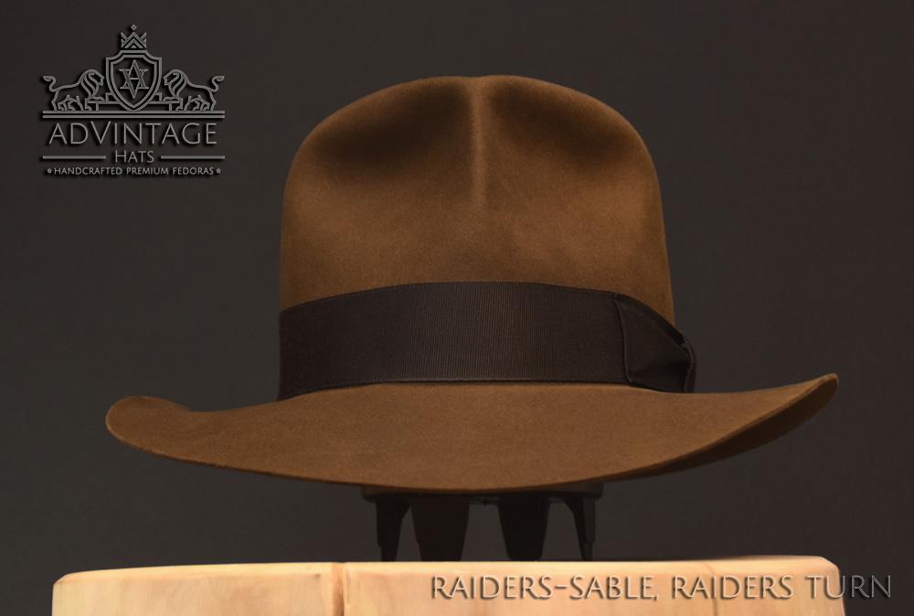 Raiders Fedora Hut hat Indy Indiana Jones Filz felt sable 8