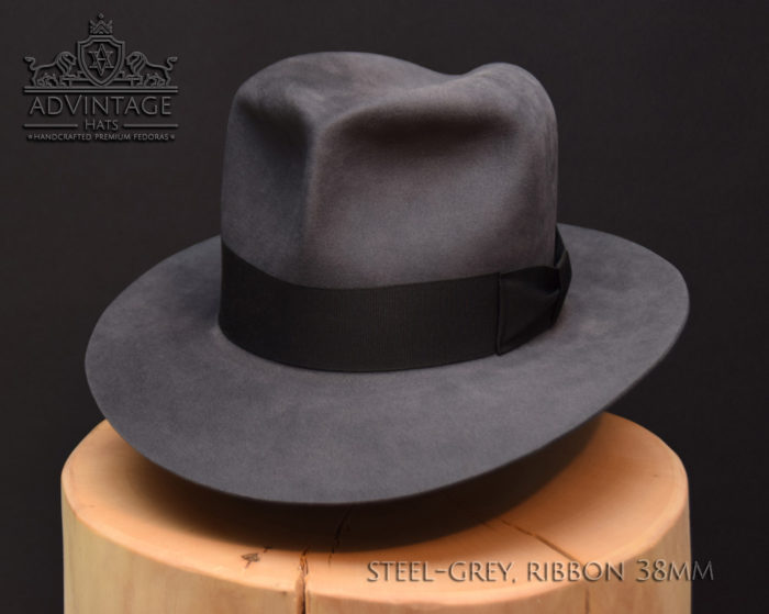 Clipper Travel Fedora Hut hat Indy Indiana Jones Filz felt 2
