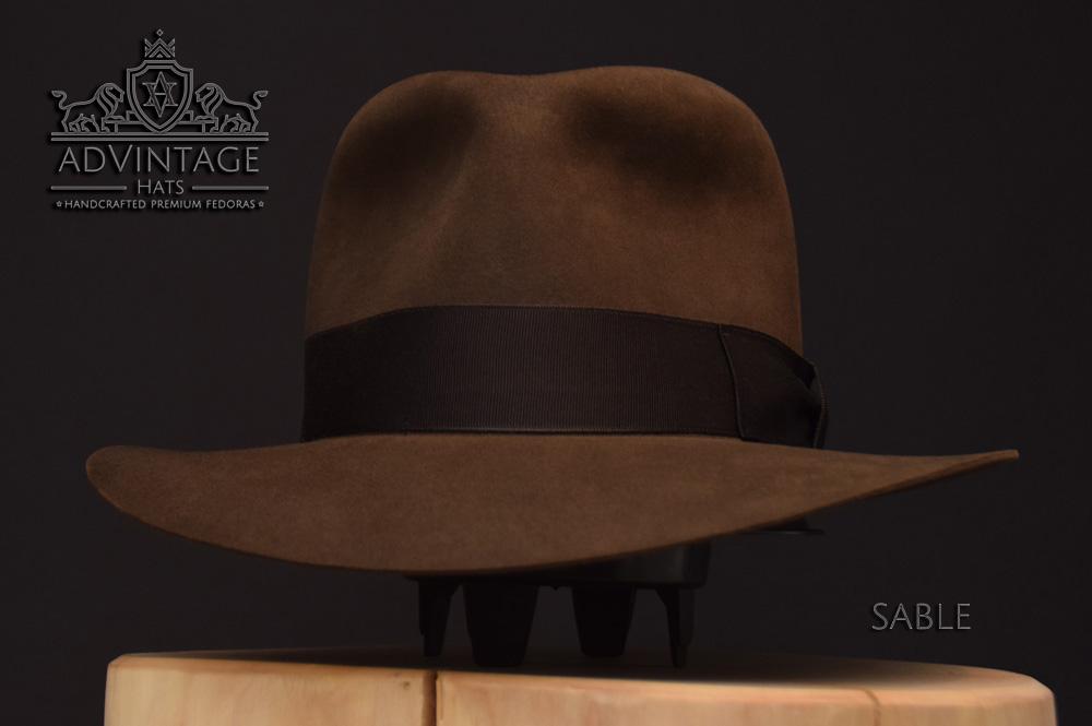 Temple Doom tod skull Fedora Hut hat Indy Indiana Jones Filz felt sable