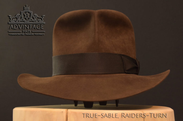 Raiders Fedora Hut hat Indy Indiana Jones Filz felt sable 10