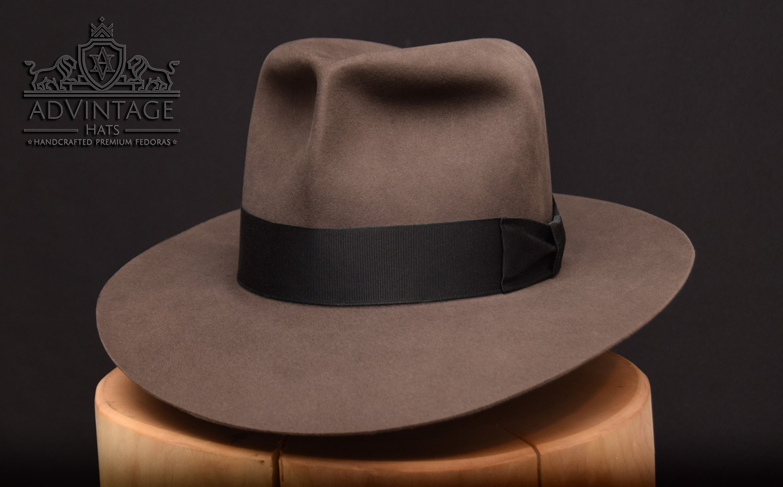 Cipper Fedora Hut aus Biberfilz