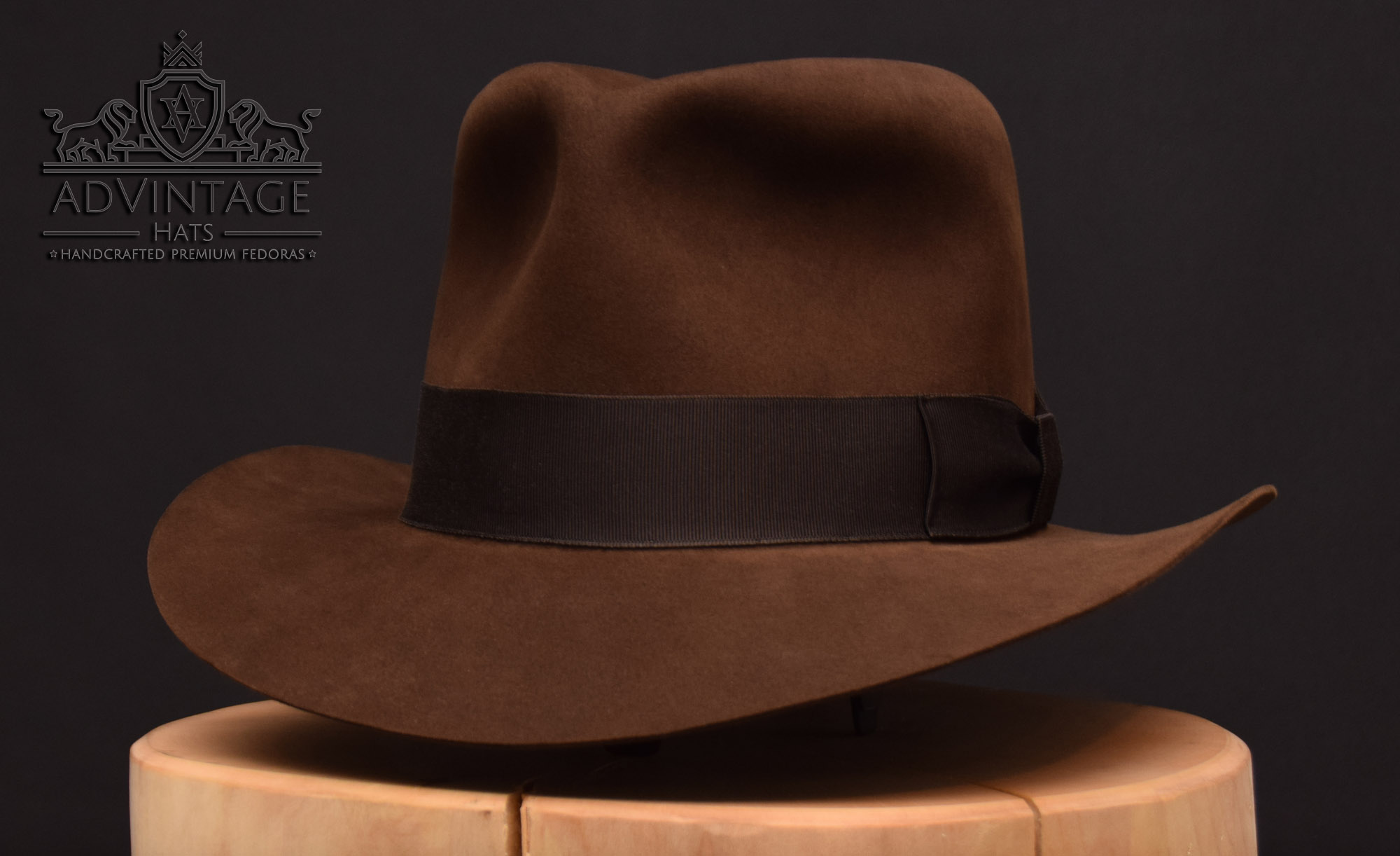 advintage hats masterpiece fedora indy indiana jones last crusade hut 4