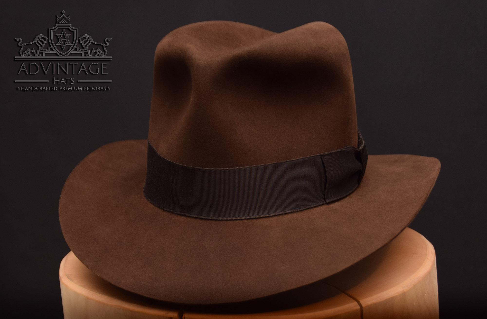 advintage hats masterpiece fedora indy indiana jones last crusade hut 1