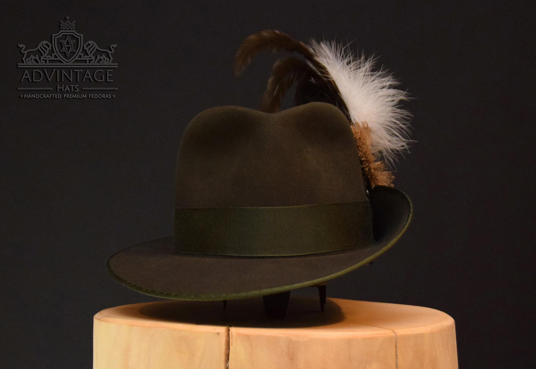 Schützenhut handgemacht Haarfilz Biberfilz Schützenverein Hut