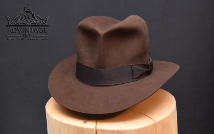 Streets of Cairo Indiana jones Fedora hat hut true-sable 2