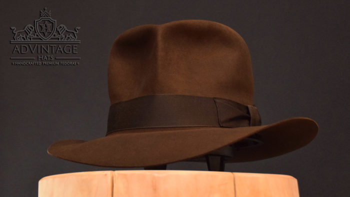 streets of cairo fedora hat hut light-sable