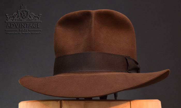 Streets of Cairo Fedora Hut hat Indiana Jones Indy sable beaver felt handmade