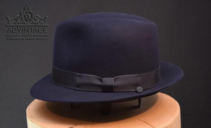 Blacklist Trilby Fedora hat hut james spader red reddington raymond blau blue advintage