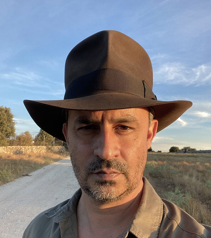 Daniel decent Streets of Cairo fedora hat