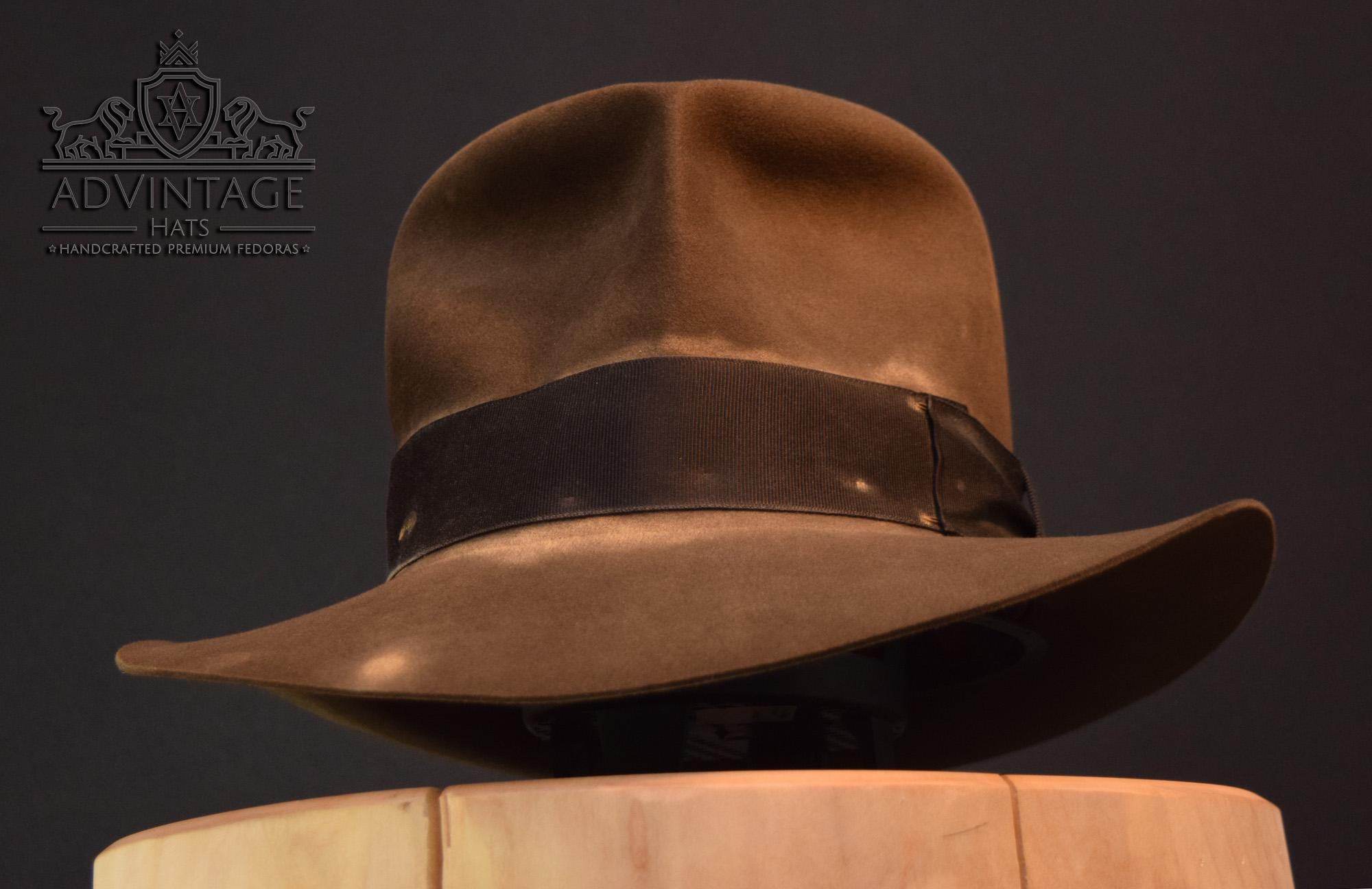 Streets of Cairo Hero Indiana Jones fedora hut hat