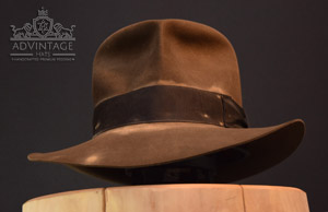 Streets of Cairo Hero Fedora Hat in Sable