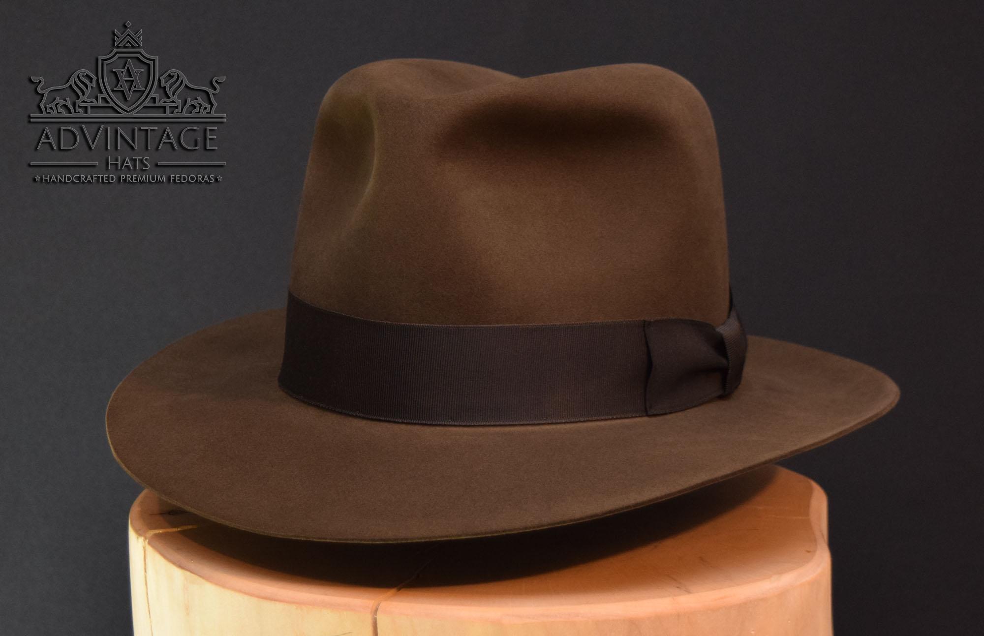 Temple of Doom Ind Indiana Jones Fedora hut hat bridge scene