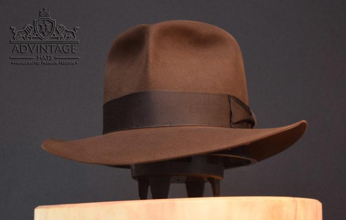Raider fedora indiana jones indy hut hat true-sable without turn
