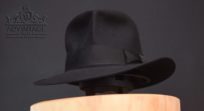streets of cairo fedora hat hut Indy indiana jones black schwarz