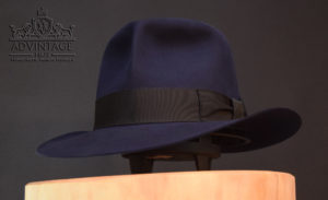 Raider fedora indiana jones indy hut hat blue blau 2