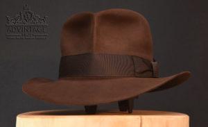 Shorter Streets of Cairo Fedora Hut hat in true-sable indy indana jones
