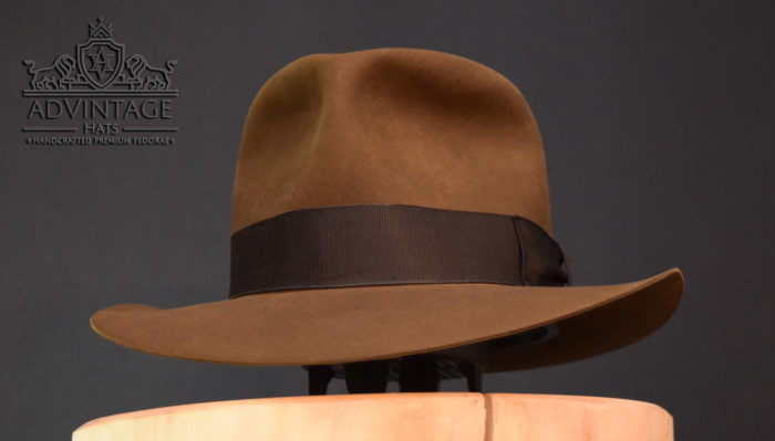 crusader fedora hit hat indiana jones indy raiders-sable