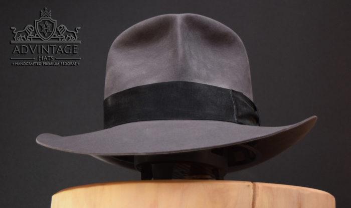 grey raider fedora hut hat